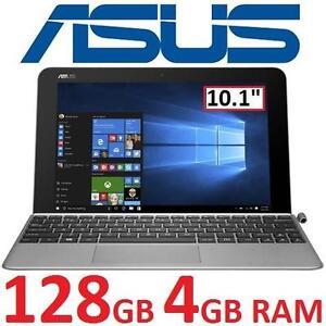 """NEW ASUS TRANSFORMER MINI T102HA - 133891344 - 10.1"""" INTEL Z8350 128GB eMMC 4GB RAM WIN10 TRANSFORMER LAPTOP COMPUTER..."""