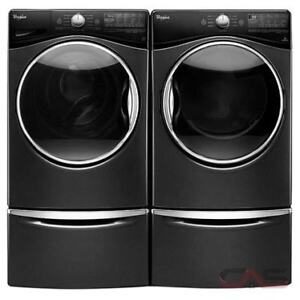 BRAND NEW! WHIRLPOOL WASHER AND DRYER AND PEDESTALS