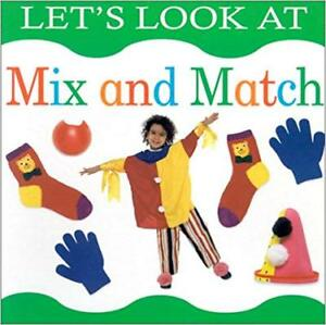 LET'S LOOK AT MIX AND MATCH BOARD BOOK