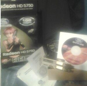 Sapphire HD5750  Radeon graphic card London Ontario image 1