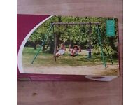 Kids swing new boxed