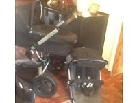 Quinny Buzz Carrycot & Pushchair +Extras