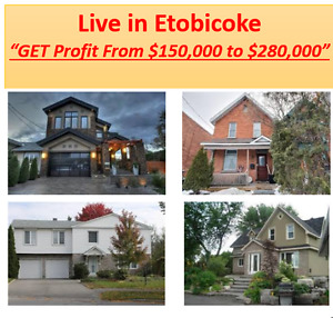 Etobicoke Homes from 500K Resale Homes Get VIP Diamond Special!!