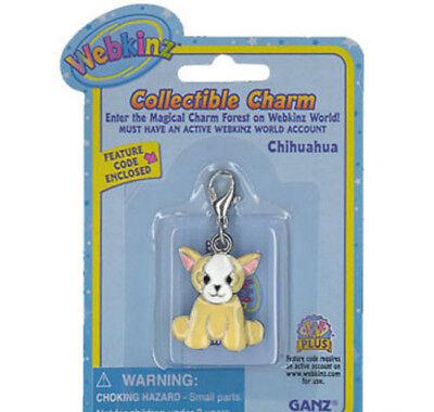 - Webkinz Collectible Charm - CHIHUAHUA - New w/Unused Code