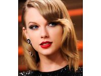 X2 Taylor Swift Tickets Manchester June 8th BEST SEATS