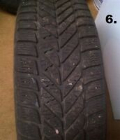 REDUCED!!!!! Used Tires - Now $20 Need a spare????