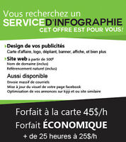 INFOGRAPHISTE Service profesionnel