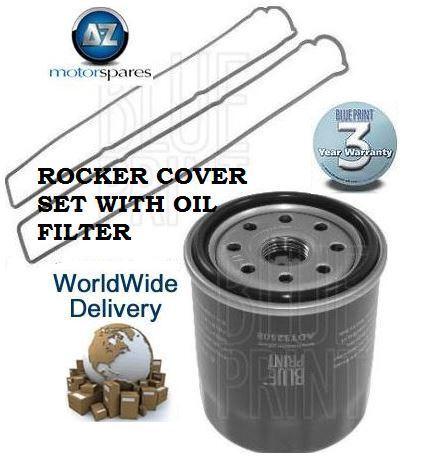 FOR LEXUS GS300 3.0i 1993-2005 NEW ROCKER COVER GASKET & OIL FILTER KIT