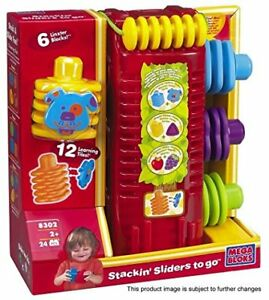 mega bloks Linxters stackin sliders to go *** BRAND NEW ***