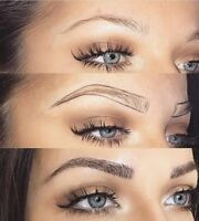 Get your Waterproof brows today! $199 Microblading Special!