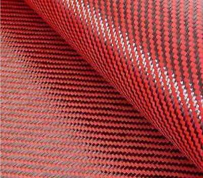 Carbon Fiberred Kevlar Cloth Fabric 2x2 Twill 39.5 3k 5.5oz