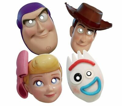 Toy Story 4 Birthday Paper Masks Party Favor (8ct) - Toys Story Party Supplies