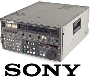 USED SONY VIDEO RECORDER EDITOR VINTAGE PVW-2800 Betacam Player Recorder Editor 106828122