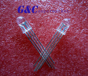 50Pcs-LED-RGB-common-cathode-4-PINS-F5-5MM-Super-Bright-Bulb-Lamp-L7
