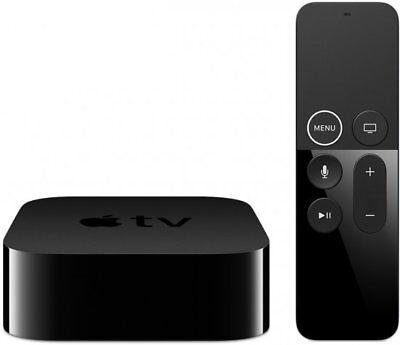 Apple TV 4K 64GB Media Burgee Siri Remote HDMI Wi-Fi Bluetooth LAN MP7P2HB/A