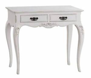 BRITTANY 2 DRAWER CONSOLE TABLE - White Burwood Burwood Area Preview