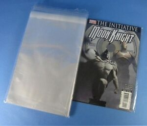 15-x-Resealable-Ploy-Sleeves-Comic-Magazine-Plastic-Protector-Clear-Storage-Bag