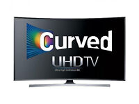 CURVED 40in Samsung 4k LED SMART TV -1200hz- wifi - voice ctrl- Freeview/SAT HD -warranty