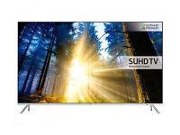 55'' CURVED SAMSUNG SMART 4K QUANTUM 1000 HDR LED TV.2016 MODEL UE55KS7500. FREE DELIVERY/SETUP