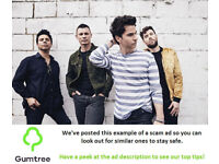 Stereophonics Tickets -- Read the ad description before replying!!