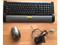 Logitech S510 Cordless keyboard & Mouse
