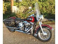 Harley Davidson Heritage Softail 2002