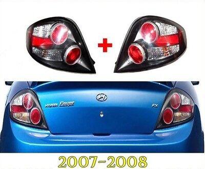 TAIL LAMP LIGHT REAR LAMP RH & LH Set OEM Part 2007-2008 Hyundai Tiburon / Coupe