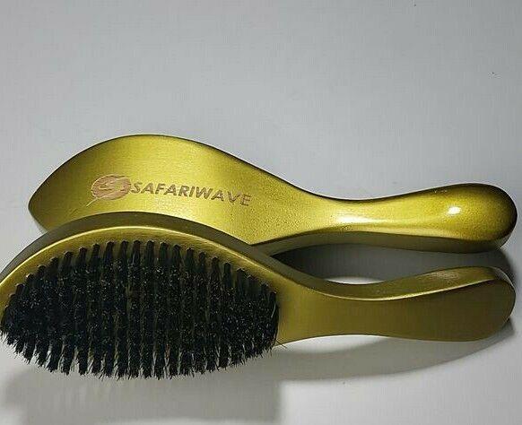 wave brush medium hard 100 percent natural