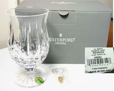 Waterford Maureen 12 Days Of Christmas Punch Cup  Ireland  New In Box
