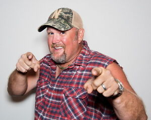 Larry the Cable Guy Tickets; 3 tickets for $110.00