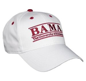 Alabama Adjustable Snapback College Bar Hat by The Game