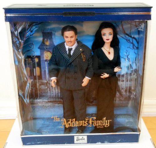 Addams Family Barbie Ebay