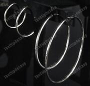 2.5 inch Hoop Earrings