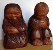 Hand Carved Wood Figures