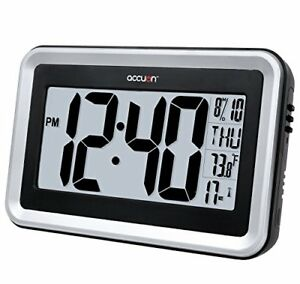 Radio Controlled Wall Clock Ebay