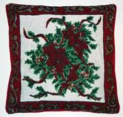 Christmas Tapestry Cushion