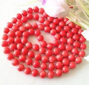 Pink Coral Bead Necklace