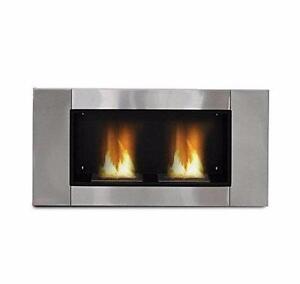 Luxury Gel Alcohol Bio Ethanol Fireplace Indoor Burner 2 Burners / Fire place Indoor