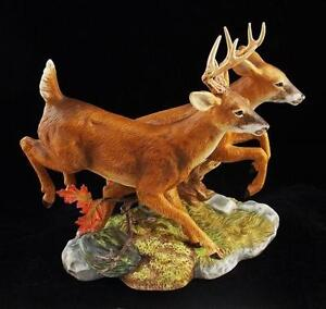 Deer figurine ebay - Home interior deer pictures for sale ...