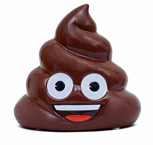 Emoji Poo Coin Bank