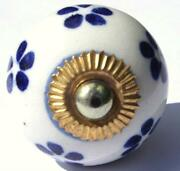 Blue Cupboard Knobs