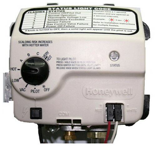 RELIANCE WATER HEATER CO 9007884005 Honey Electronic Gas Val