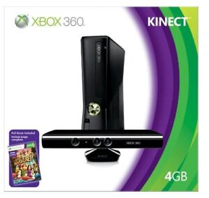XBOX 360 SLIM WITH CONNECT MINT CONDITION