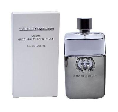 Gucci Guilty Pour Homme Men 3.0 3 oz 90 ml *Eau De Toilette* Spray New test +cap