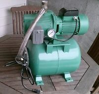 1HP Well Pump with 6.3 US Gal Pressure Tank and Pressure