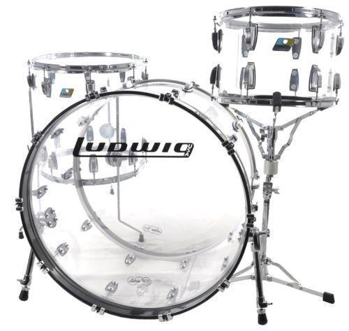 Vistalite Ludwig Drum Set