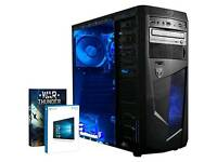 Vibox Ultra 11XLW Gaming PC - with WarthundeWindows 10 (3.1GHz AMD A8 Quad Core Processor,