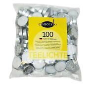 100 Teelichter