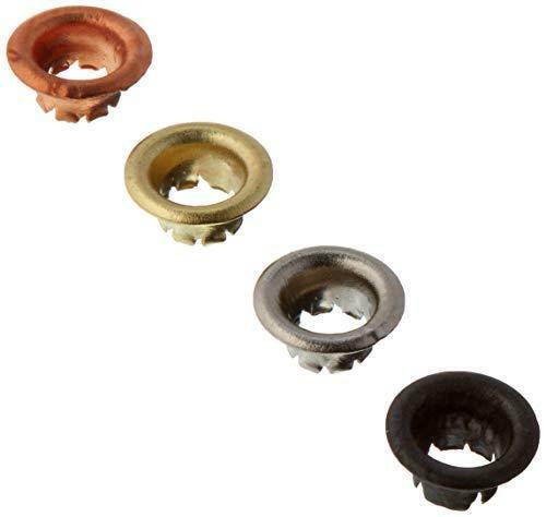 "PTC 52968-R 100pc 3/16"" Metal Eyelets Shoes Clothes Crafts-4 Colors"