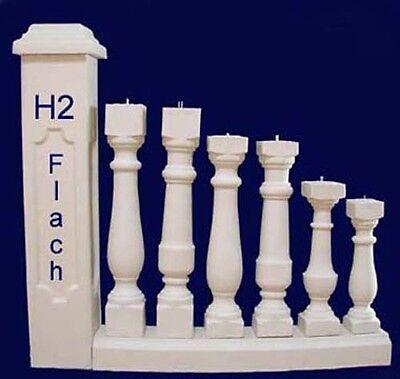 Pfosten Säulen Zaun Gartenzaun Balustraden Baluster Balustrade Gartenmauer Vase